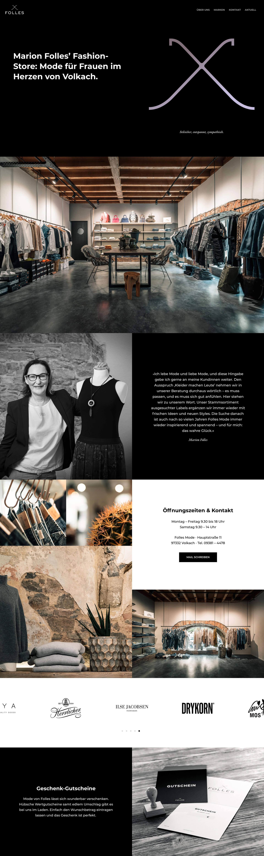 Folles Website